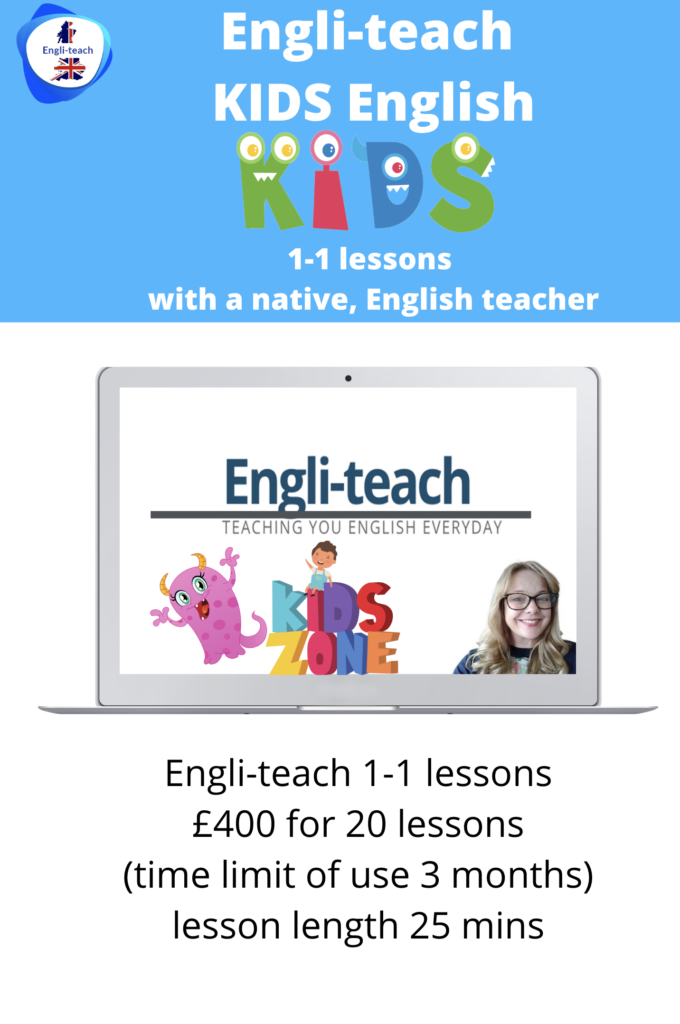 KIDS ENGLISH LESSONS